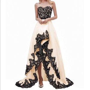 6e06877437e Dresses   Skirts - Women Hi-Low satin prom dresses formal dresses